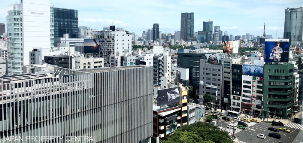 JAPAN LAND PRICES INCREASE IN 95% OF LOCATIONS, BEATING PREVIOUS RECORD